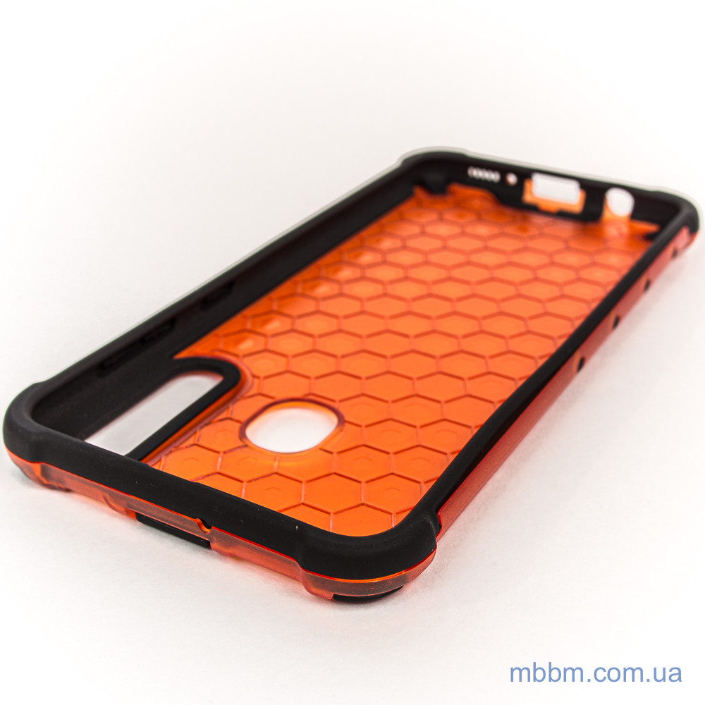 Чехлы для Samsung Galaxy A20 | A30 Transformer Honeycomb red