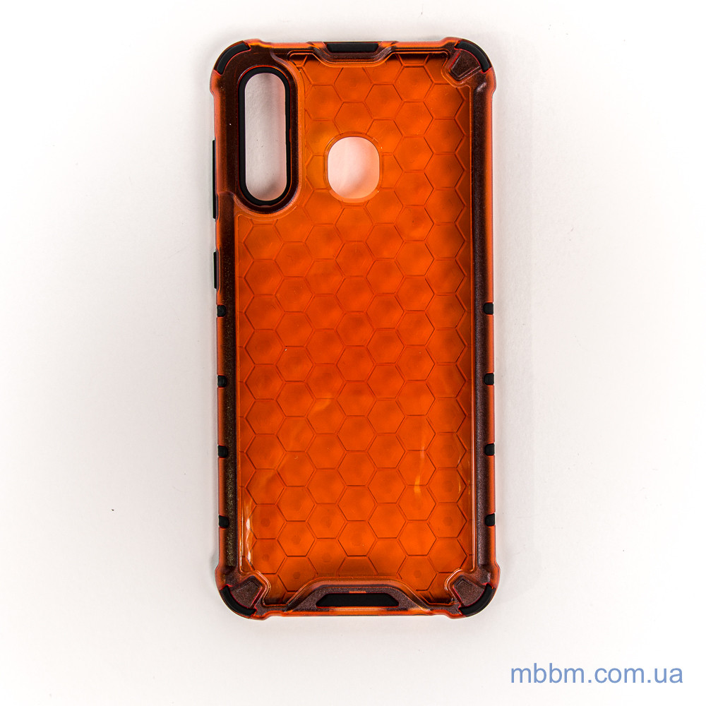 Чохол Transformer Honeycomb Samsung A20 / A30 red