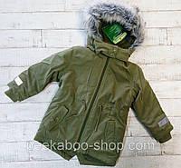 Парка хаки зимняя куртка Lupilu 92 оригинал немецкое качество