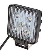 Фара дополнительная LED 15W Mini (5x3W CREE) квадратная, 1050lm, 9-32V (Flood) 950-990310005