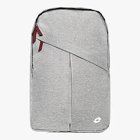 Городской рюкзак для прогулок Lotto COMPOBASSO Gray Black
