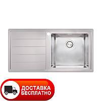 Кухонная мойка Apell Linear Plus LNP1001FLBC LEFT 100*50