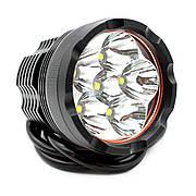 Фара дополнительная LED 15W (5x3W Epistar) круглая, 1100lm, 9-32V (Flood) 950-990310004