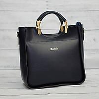 Синяя женская сумка Zara ( код: IBG028Z )