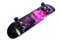 "Скейт Scale Sports ""Milky Way"", нагрузка до 90 кг"