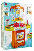 Детская игрушечная кухня со световыми и звуковыми эффектами 889-121