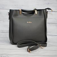 Женская сумка Zara, черная ( код: IBG028B2 )