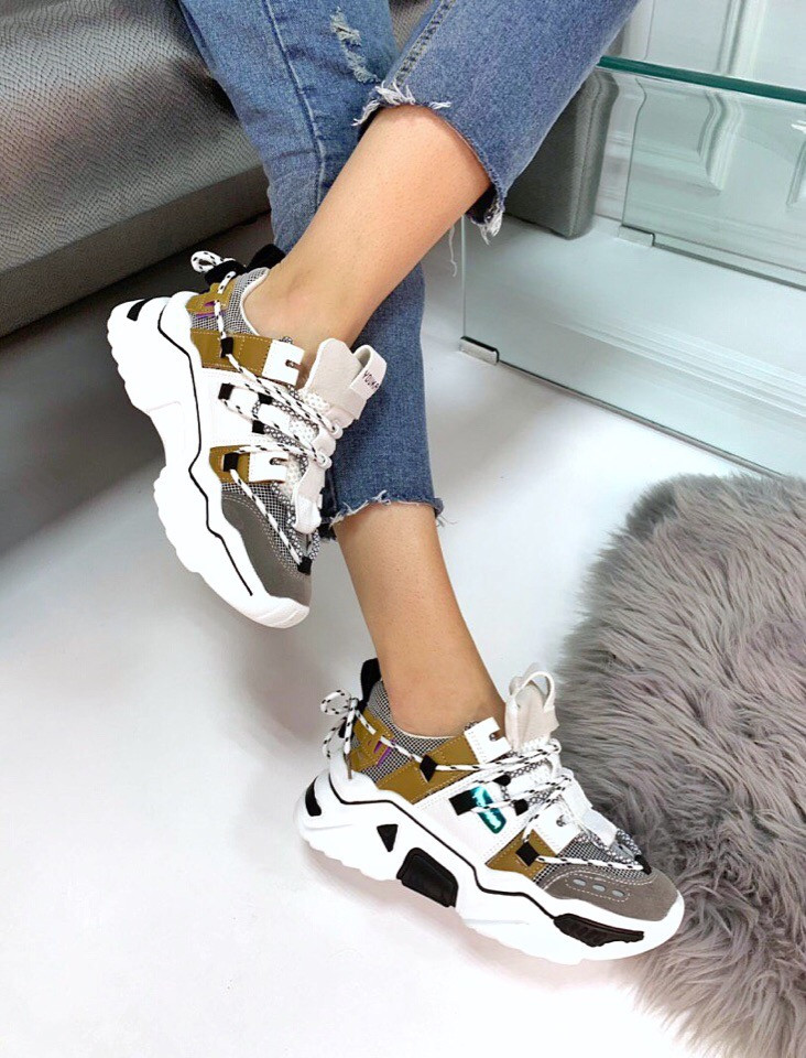 Кроссовки  в стиле Balenciaga Track .  Цвет: мультиколор 38 размеры