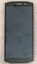 Модуль (сенсор+дисплей) для Blackview BV5800 чорний, фото 3