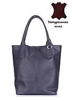 Кожаная женская сумка POOLPARTY Podium