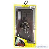 Чехол TPU Deen ColorRing с креплением под магнитный держатель Xiaomi Mi 9 SE black, фото 3