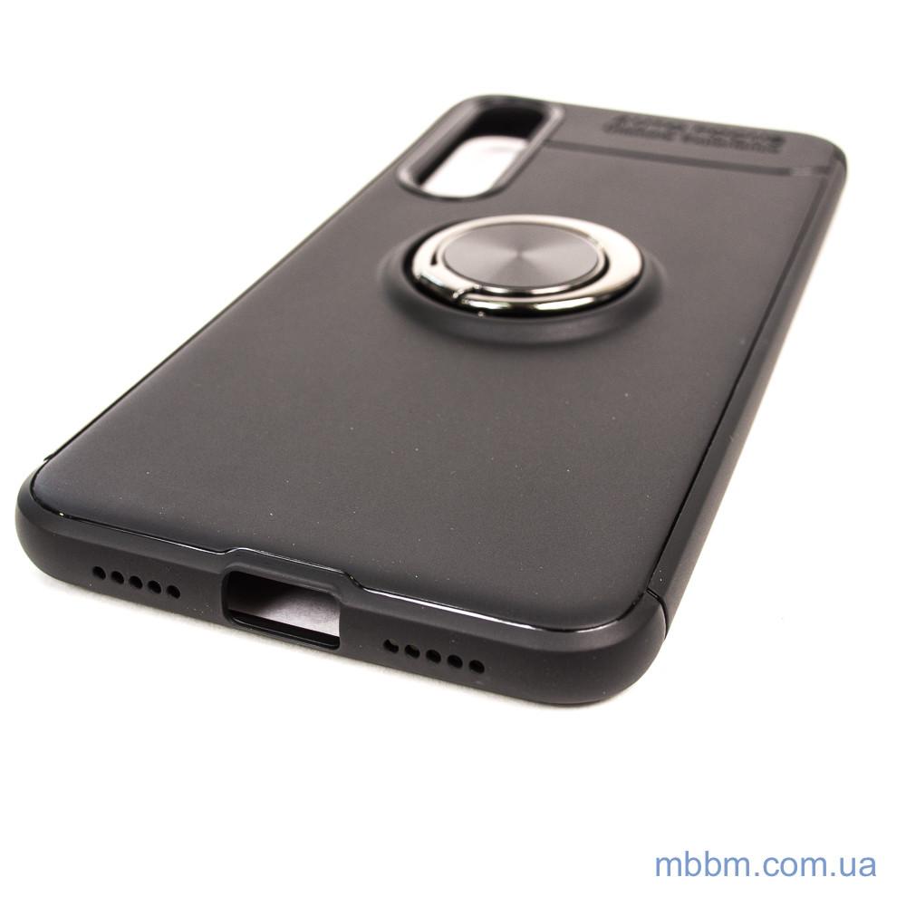Чехол TPU Deen ColorRing с креплением под магнитный держатель Xiaomi Mi 9 SE black