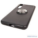 Чехол TPU Deen ColorRing с креплением под магнитный держатель Xiaomi Mi 9 SE black, фото 4