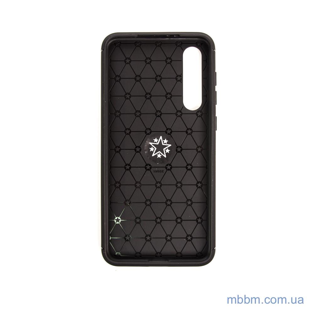 Чехол TPU Deen ColorRing с креплением под магнитный держатель Xiaomi Mi 9 SE black Черный