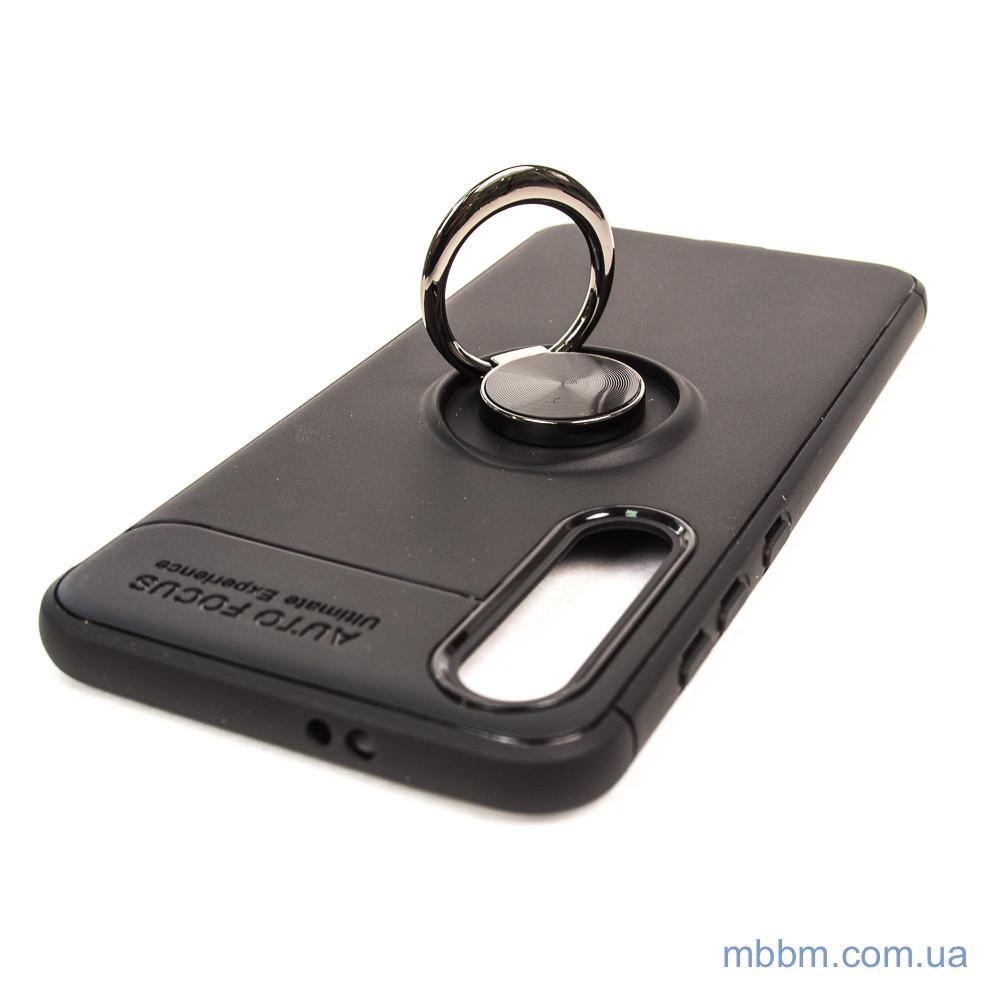 Чехлы для Xiaomi Mi 9 SE TPU Deen ColorRing с креплением под магнитный держатель black