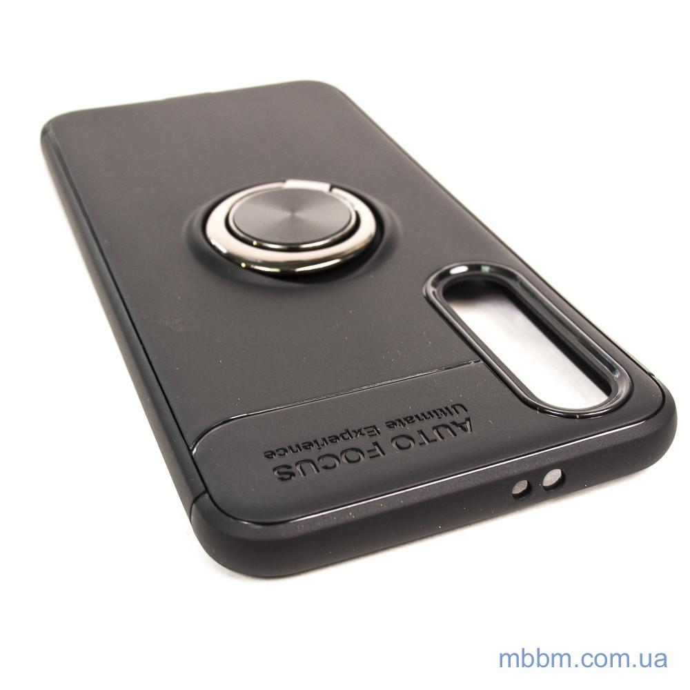 TPU Deen ColorRing с креплением под магнитный держатель Xiaomi Mi 9 SE black