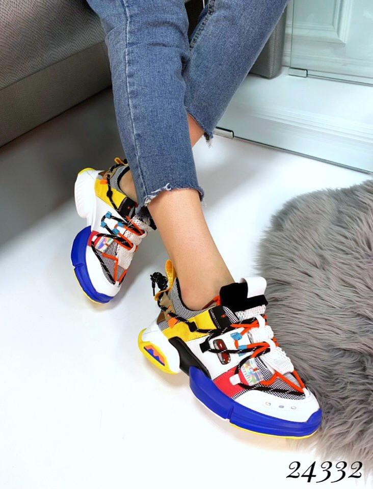 Кроссовки  в стиле Balenciaga Track . 🔺 Цвет: белый 36 размеры
