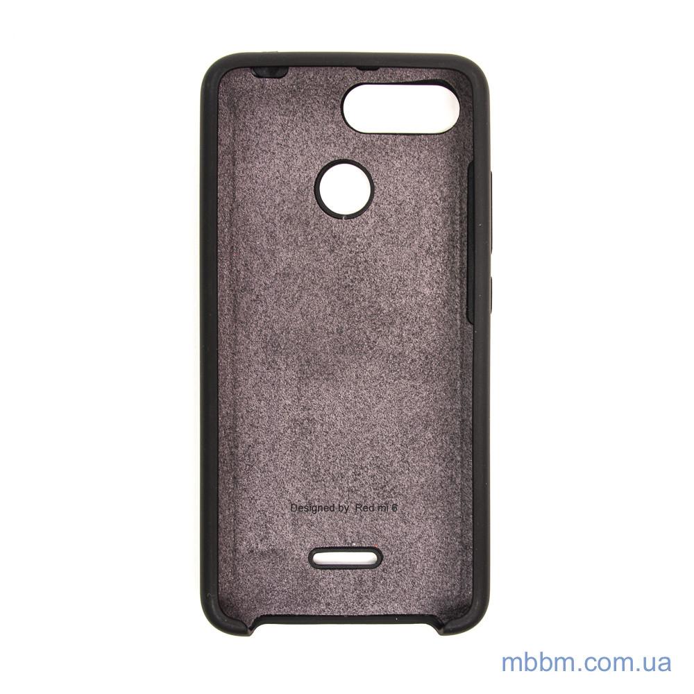 Чехлы для Xiaomi Redmi 6 Original Soft black Для телефона