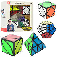 Кубик EQY527  4шт (5,5-5,5см и 9-9см), в кор-ке, 20-20-8см