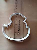 Вырубка для пряника ципленок в яйце 10 см