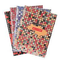 """Книга обліку """"Mosaic"""" 80 листов, А4, асорті"""
