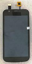 Модуль (дисплей+сенсор) Nokia 1 TA-1060/Dual Sim TA-1047 чорний, фото 3