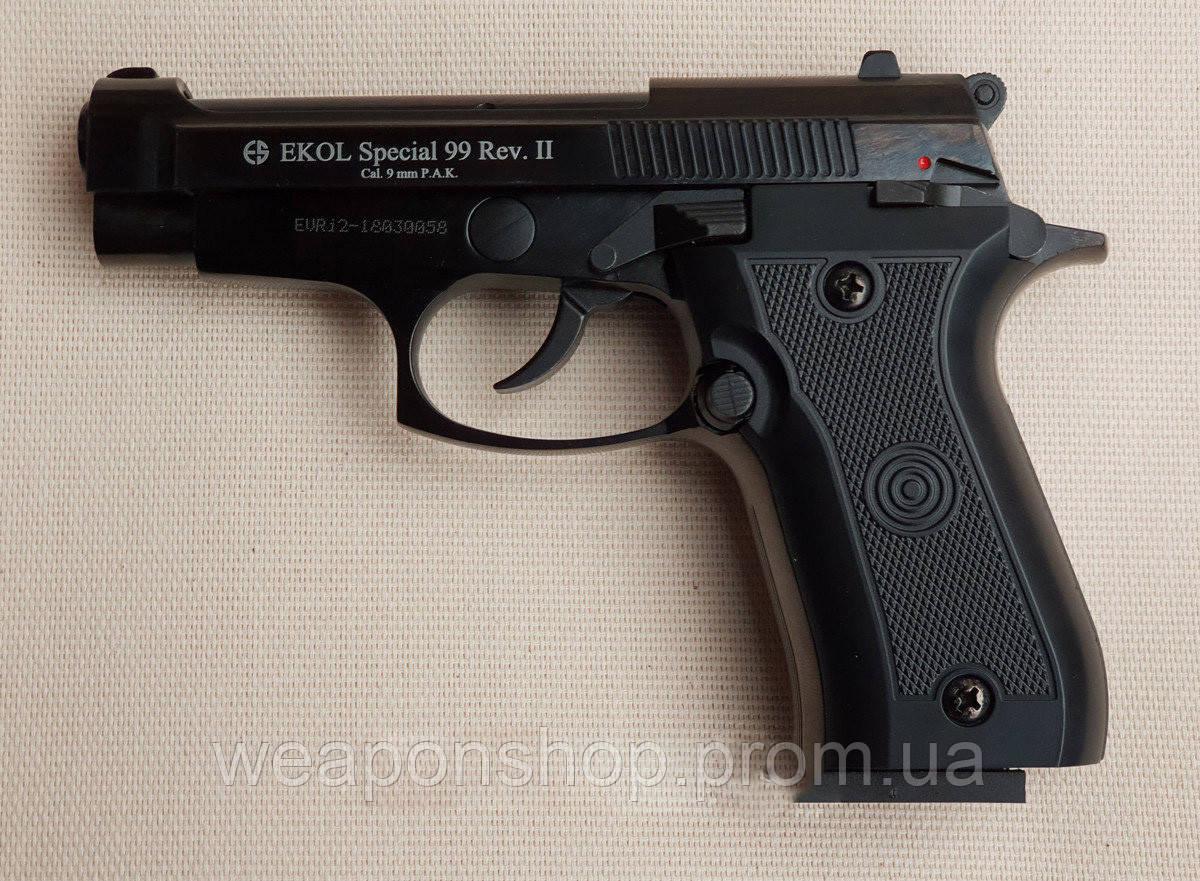 Стартовый пистолет Voltran Ekol Special 99 Rev-2 Black