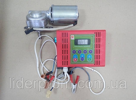 Электропривод для медогонки  12 В.(алюминиевый корпус), фото 2