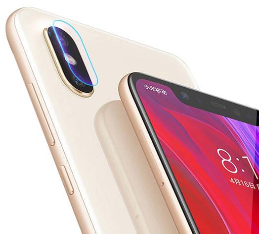 Защитное стекло NZY для камеры Xiaomi Mi 8 Прозрачное (999765), фото 2