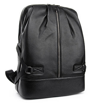 Рюкзак Міський шкіряний BRETTON BP 8003-67 чорна, фото 2