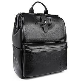 Рюкзак Міський шкіряний BRETTON BP 2004-7 чорна
