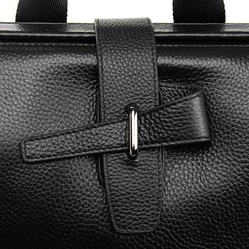 Рюкзак Міський шкіряний BRETTON BP 2004-7 чорна, фото 2
