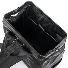 Рюкзак Міський шкіряний BRETTON BP 2004-7 чорна, фото 3