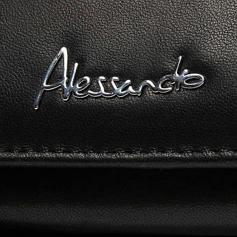 Кошелек NAPPA кожа ALESSANDRO PAOLI W1-V черный, фото 2