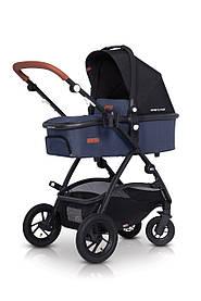 Детская универсальная коляска 2в1 EasyGo Optimo Air Denim