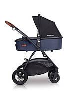 Дитяча універсальна коляска 2в1 EasyGo Optimo Air Denim, фото 2