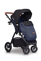 Дитяча універсальна коляска 2в1 EasyGo Optimo Air Denim, фото 5