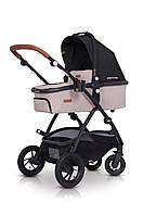 Детская универсальная коляска 2в1 EasyGo Optimo Air Sand