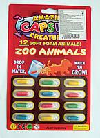 """Капсулы с животными, растущие в воде! Серия """"Африканские животные"""", фото 1"""