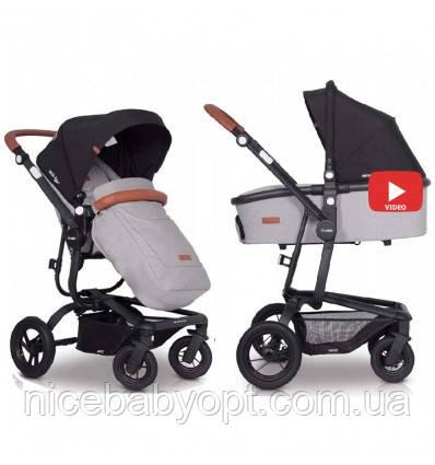 Дитяча універсальна коляска 2в1 EasyGo Soul Air Grey Fox
