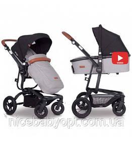 Детская универсальная коляска 2в1 EasyGo Soul Air Grey Fox