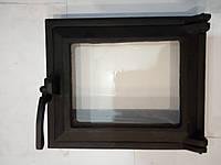 Дверцы чугунные топочные (ПО) №860 стекло