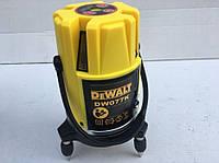 Лазерный уровень нивелир DEWALT DW077K 30 метров 5 линий 6 точек, фото 6