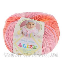 Alize BABY WOOL BATİK (Бейбі Вул Батік) 3610