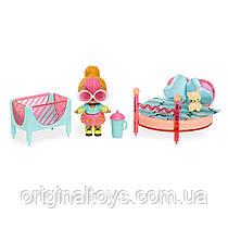 Набор мебель Лол Сюрприз Спальня Неон Q.T. L.O.L. Surprise Furniture Furniture Bedroom Neon Q.T.