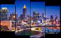 Модульная картина Interno Эко кожа Атланта 140x89см (A1103XL)