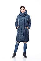 Зимнее стеганое пальто Карина  соты