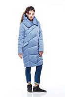 Зимнее стеганное пальто Карина атлас