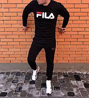 Демисезонный мужской спортивный костюм, чоловічий спортивний костюм Fila Italia, Реплика
