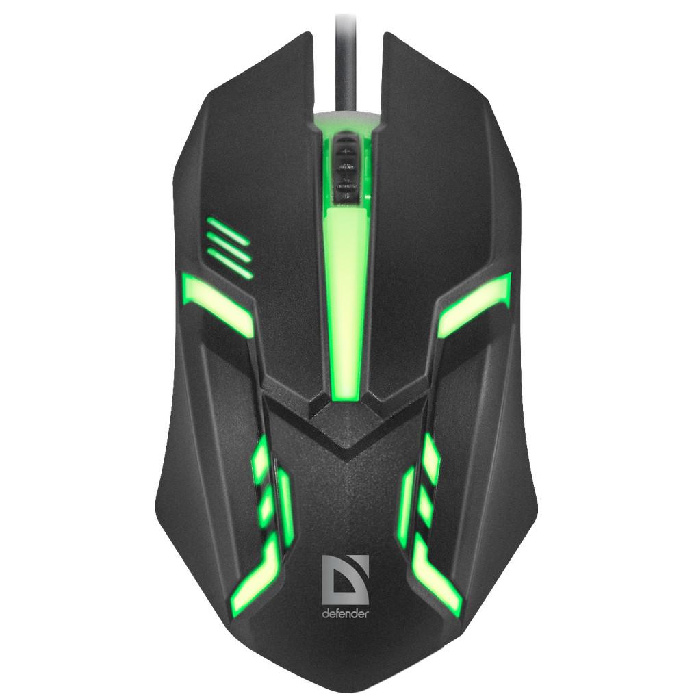 Миша Defender Cyber MB-560L USB Black (52560)